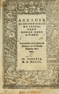 Arcadia, de Sannazaro
