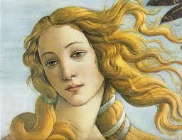 Detalle de El nacimiento de Venus, de Botticelli