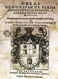 Obras de don Juan de Tarsis