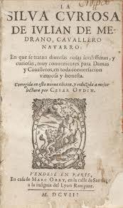 Portada de La silva curiosa de Julián de Medrano