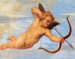 Cupido disparando, de Rafael