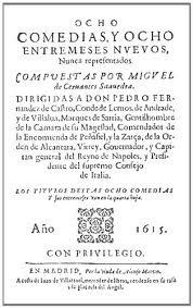 Portada de ocho comedias y ocho entremeses (1615)