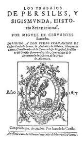 Portadade Los trabajos de Persiles y Sigismunda