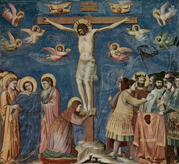 Cristo crucificado, de Giotto Di Bondone