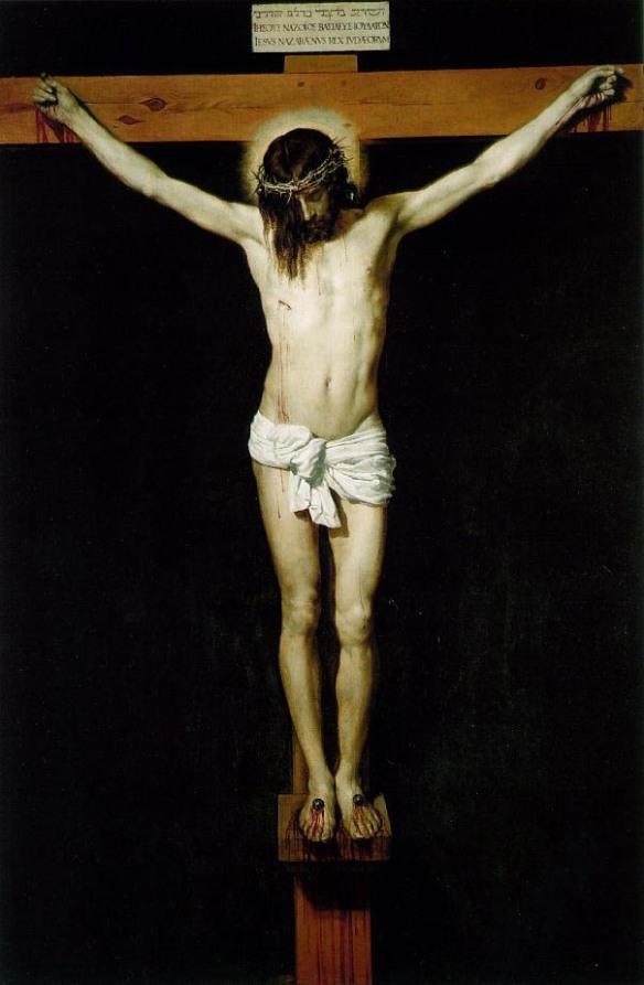 Cristo crucificado, de Velázquez