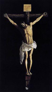 Cristo crucificado, de Zurbarán