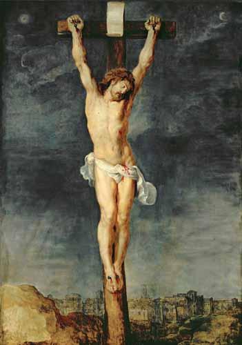 Cristo en la Cruz, de Rubens