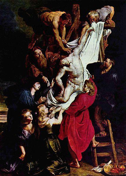 El descendimiento de la Cruz, de Rubens
