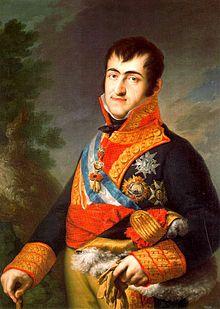 Fernando VII, por Vicente López