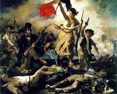 La Libertad conduciendo al pueblo, por Delacroix