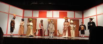 Mojiganga del grupo de Teatro Experimental del Centro Asturiano