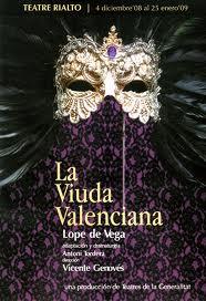 La viuda valenciana, de Lope