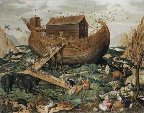 El Arca de Noé en el monte Ararat