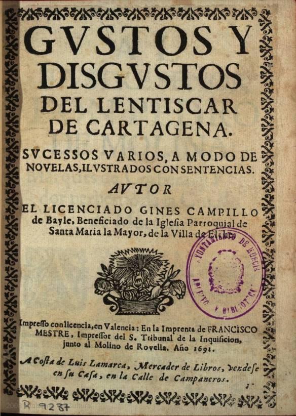 Gustos y disgustos del Lentiscar de Cartagena