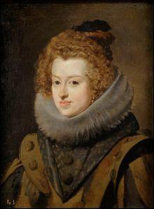 María Ana de Austria, por Velázquez