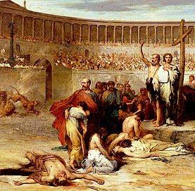 Mártires cristianos en Roma