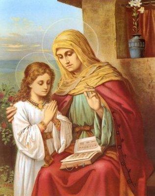 Santa Ana, Madre de María