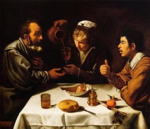 El almuerzo, de Velázquez