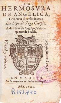 La hermosura de Angélica con otras diversas rimas (1602)