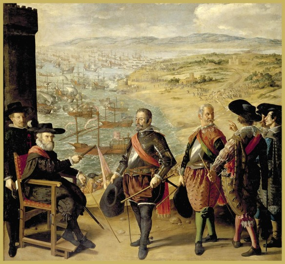 La defensa de Cádiz, Zurbarán