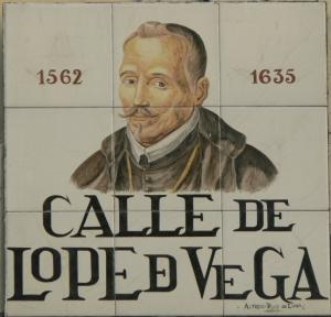 Calle de Lope de Vega en Madrid