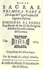 Rimas sacras, de Lope de Vega