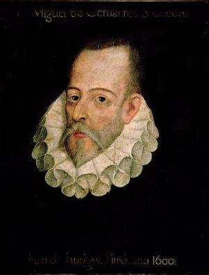 Retrato de Cervantes atribuido a Juan de Jáuregui