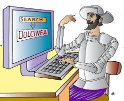 Don Quijote busca Dulcinea