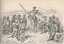 Don Quijote libera a los galeotes