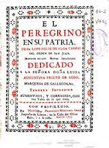 El peregrino en su patria, de Lope de Vega