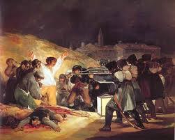 Los fusilamientos del 3 de mayo, de Goya