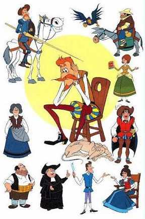 Personajes del Quijote