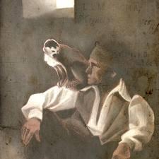 Ginés de Pasamonte como maese Pedro