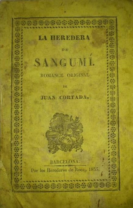 La heredera de Sangumí, de Juan Cortada
