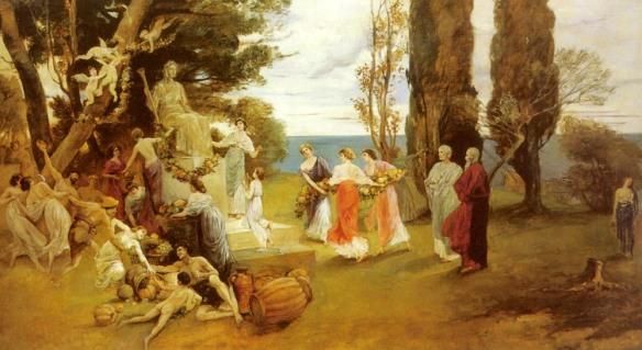 In Arcadia, de Friedrich August von Kaulbach