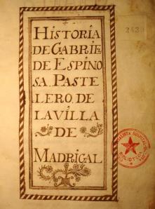 Historia de Gabriel de Espinosa