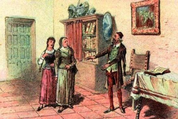 La sobrina y el ama de don Quijote