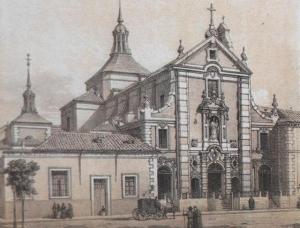 Convento de los Carmelitas Descalzos en Madrid