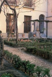 Jardín de la casa de Lope de Vega