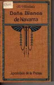 Doña Blanca de Navarra, de Navarro Villoslada