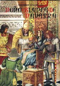 Doña Blanca de Navarra, de Navarro Villloslada