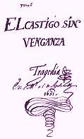 Manuscrito de El castigo sin venganza, de Lope