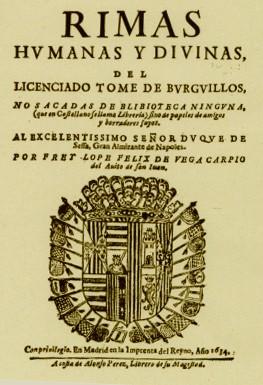 Rimas Humanas Y Divinas Del Licenciado Tomé De Burguillos ínsula Barañaria