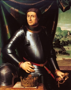 Alfonso V el Magnánimo, por Juan de Juanes