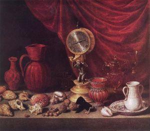Bodegón con reloj, de Antonio de Pereda