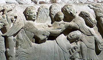 Sepulcro de doña Blanca de Navarra, en Nájera