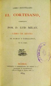 El cortesano, de Luis Milán