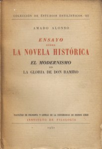 Ensayo sobre la novela histórica, de Amado Alonso