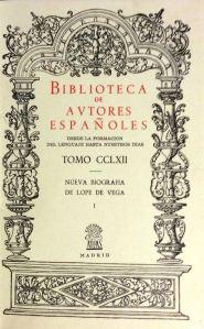 C. A. de la Barrera, Nueva biografía de Lope de Vega