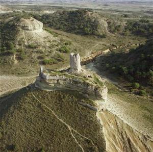 Castillo de Peñaflor, en el vedado de Eguaras